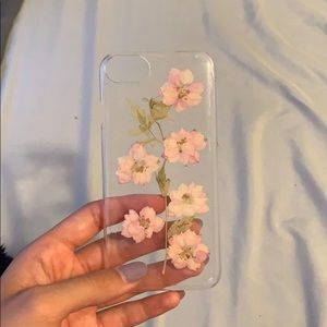 clear flower iphone 6 case